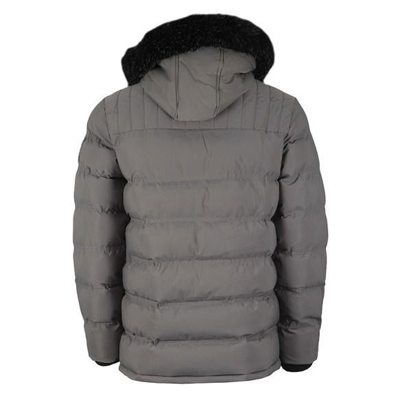 Kings Will Dream Mens Grey Frost Parka Jacket main image