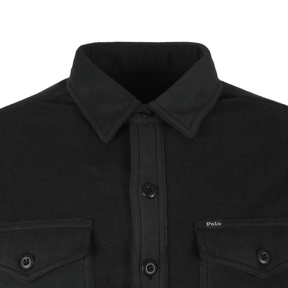 Polo Ralph Lauren Mens Black Fleece Overshirt