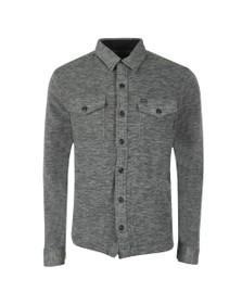 Polo Ralph Lauren Mens Grey Fleece Overshirt