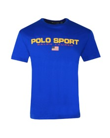 Polo Ralph Lauren Sport Mens Blue Logo T Shirt