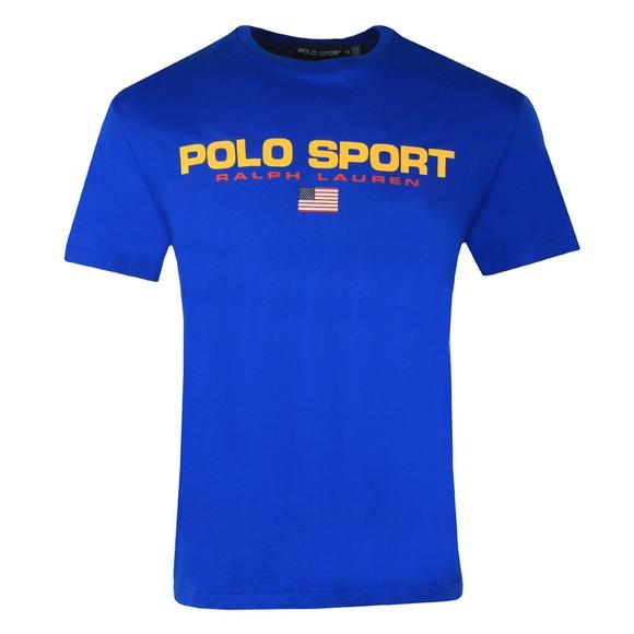 Polo Sport Ralph Lauren Mens Blue Logo T Shirt