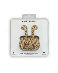 Happy Plugs Unisex Leopard Air 1 Limited Edition Wireless Headphones