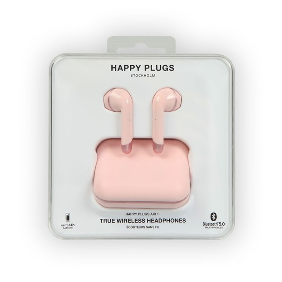 Happy Plugs Unisex Pink Air 1 Wireless Headphones main image