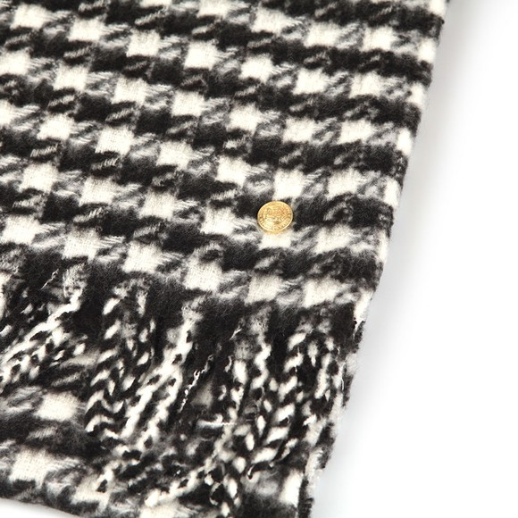 Holland Cooper Womens Houndstooth Houndstooth Scarf main image