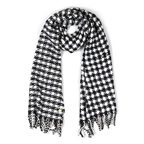 Holland Cooper Womens Houndstooth Houndstooth Scarf