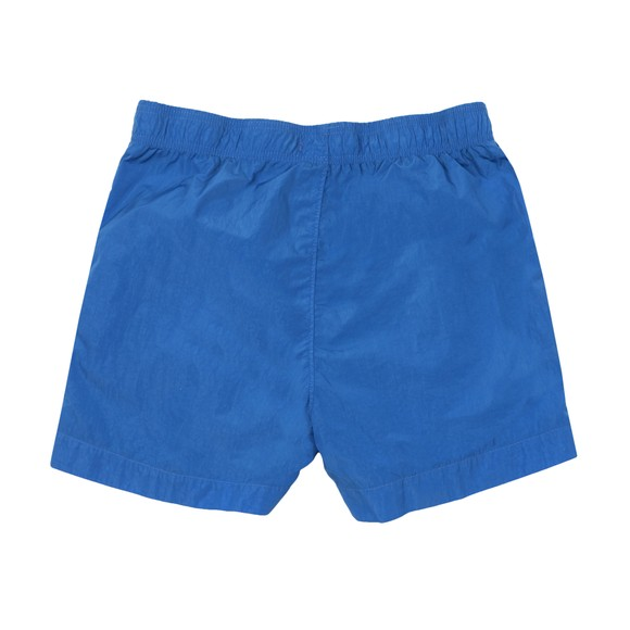 C.P. Company Undersixteen Boys Blue Patch Logo Swim Short