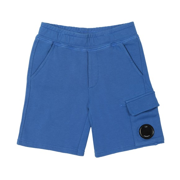 C.P. Company Undersixteen Boys Blue Viewfinder Sweat Cargo Short main image