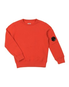 C.P. Company Undersixteen Boys Orange Viewfinder Sweatshirt