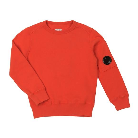C.P. Company Undersixteen Boys Orange Viewfinder Sweatshirt main image