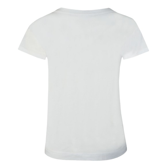 Love Moschino Womens White Side Logo Core T-Shirt main image
