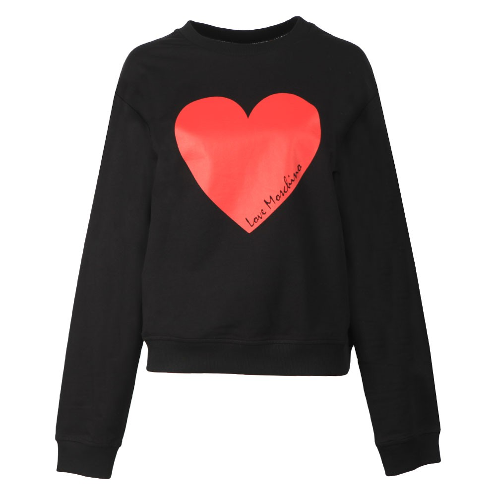 Girocollo Heart Sweatshirt main image
