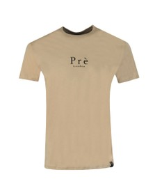 Pre London Mens Beige Core T Shirt