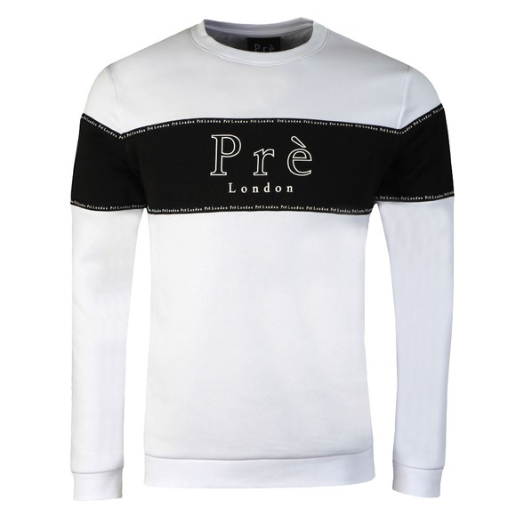 Pre London Mens White Toulouse Sweatshirt main image