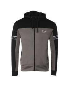 Pre London Mens Grey Eclipse Poly Full Zip