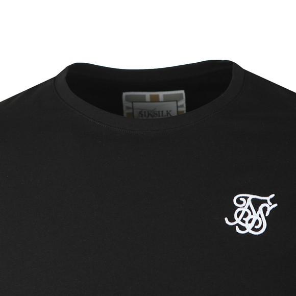 Sik Silk Mens Black Core Gym Tee main image