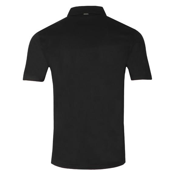 HUGO Mens Black Dolden Polo Shirt main image