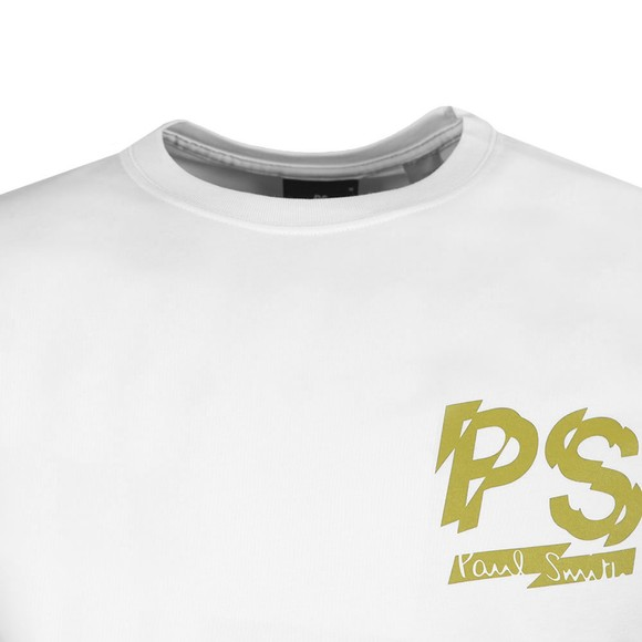 PS Paul Smith Mens White Logo T-Shirt
