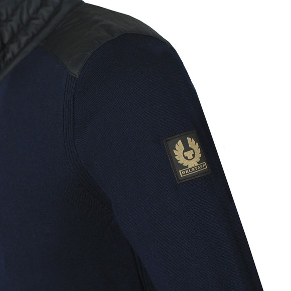 Belstaff Mens Blue Kelby Zip Cardigan