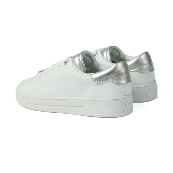Ted Baker Womens White Zenis Trainer main image