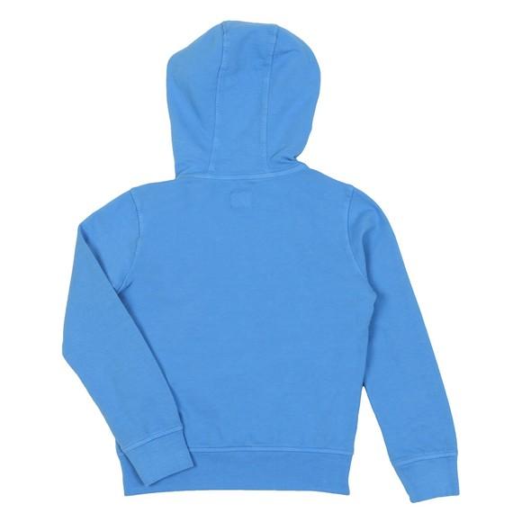 C.P. Company Undersixteen Boys Blue Nylon Mix Overhead Hoody main image