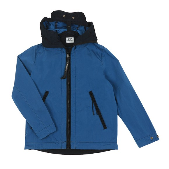 C.P. Company Undersixteen Boys Blue 50 Fili Goggle Jacket