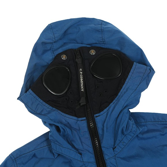 C.P. Company Undersixteen Boys Blue 50 Fili Goggle Jacket main image