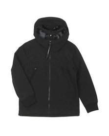 C.P. Company Undersixteen Boys Black Goggle Soft Shell Jacket