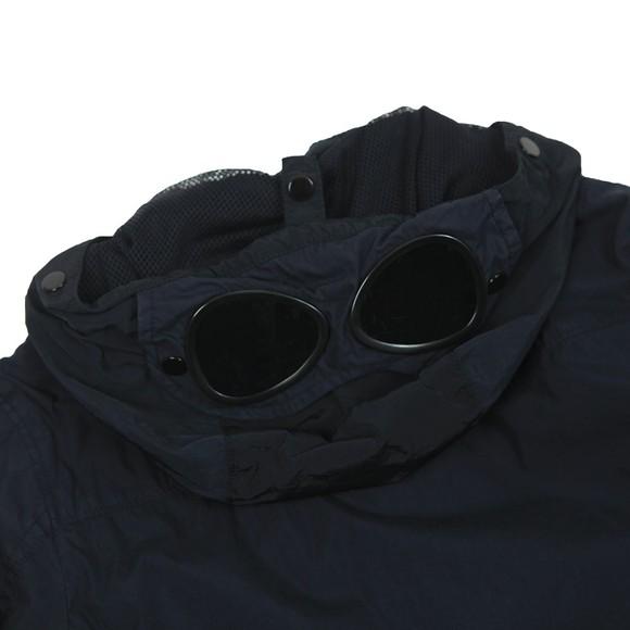 C.P. Company Undersixteen Boys Blue Hooded Chest Pocket Jacket main image