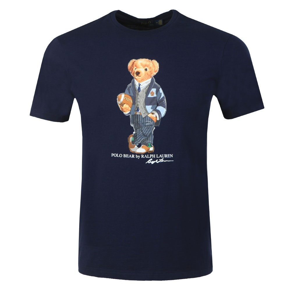 New Football Bear T Shirt main image