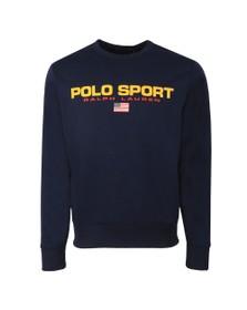 Polo Ralph Lauren Sport Mens Blue Crew Neck Sweatshirt