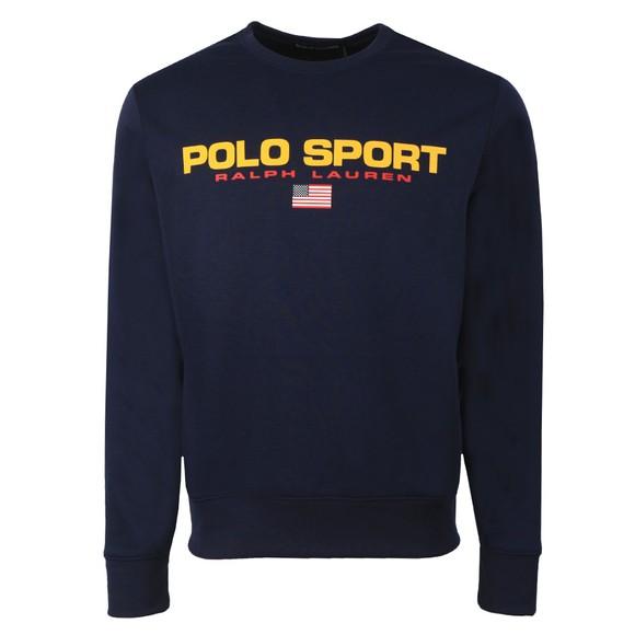 Polo Sport Ralph Lauren Mens Blue Crew Neck Sweatshirt