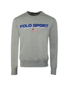 Polo Ralph Lauren Sport Mens Grey Crew Neck Sweatshirt