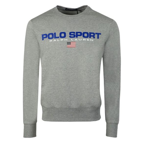 Polo Sport Ralph Lauren Mens Grey Crew Neck Sweatshirt
