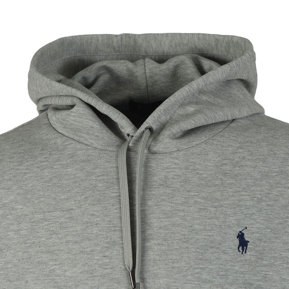 Polo Ralph Lauren Mens Grey Large Polo Overhead Hoody