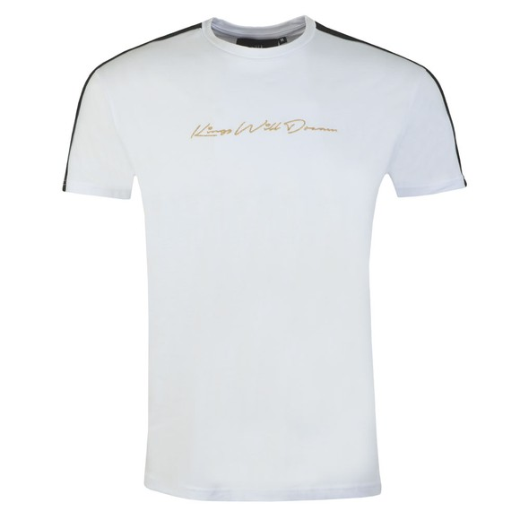 Kings Will Dream Mens White Mlorton T-Shirt main image