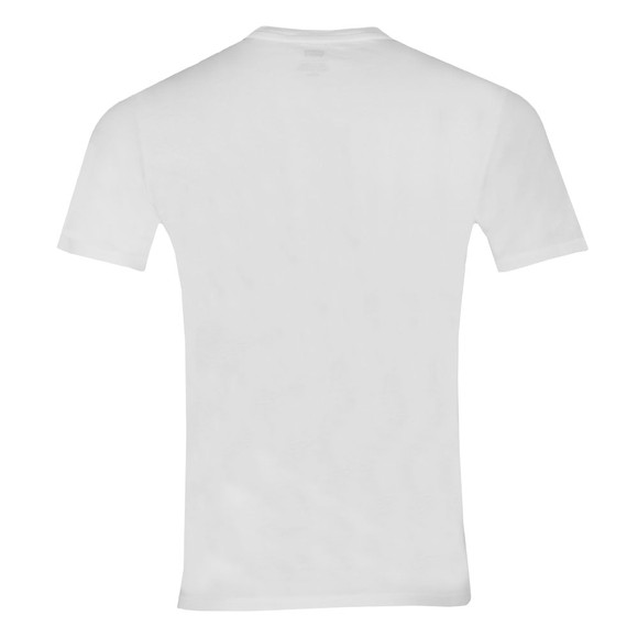 Levi's Mens White 2 Horse Graphic Tee main image
