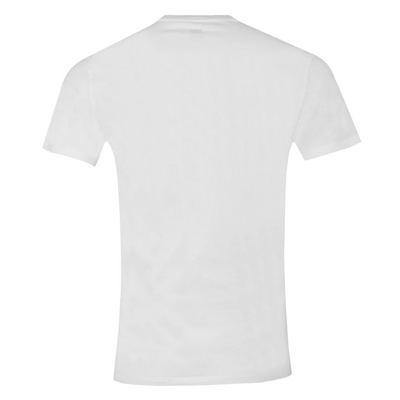 Levi's Mens White Logo Branded Tee main image