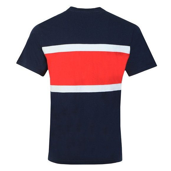 Levi's Mens Blue Colour Block T-Shirt main image