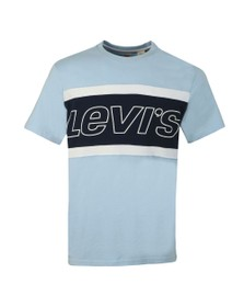 Levi's Mens Blue Colour Block T-Shirt