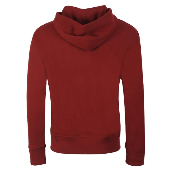 Levi's Mens Red Relaxed Graphic Hoodie main image