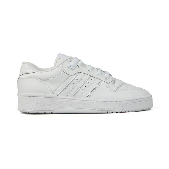 adidas Originals Mens White Rivalry Low Trainer