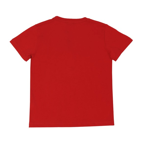 EA7 Emporio Armani Boys Red Large Logo T-Shirt main image