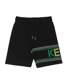 Kenzo Kids Boys Black Sport Line Jersey Short
