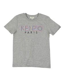 Kenzo Kids Boys Grey Sport Line Logo T Shirt