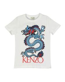 Kenzo Kids Boys White Jao Dragon Celebration T-Shirt