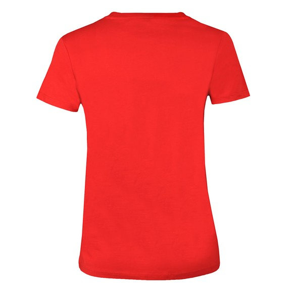 Levi's Womens Red Perfect Logo T Shirt main image
