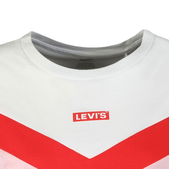 Levi's Womens White Florence Baby Tab T Shirt main image