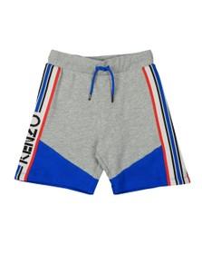 Kenzo Kids Boys Grey Sport Line Logo Jersey Short