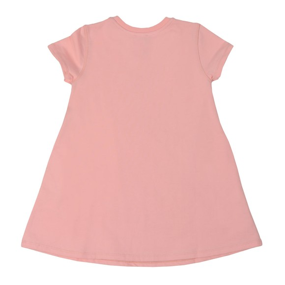 Kenzo Kids Girls Pink Sport Line Logo Jersey Dress