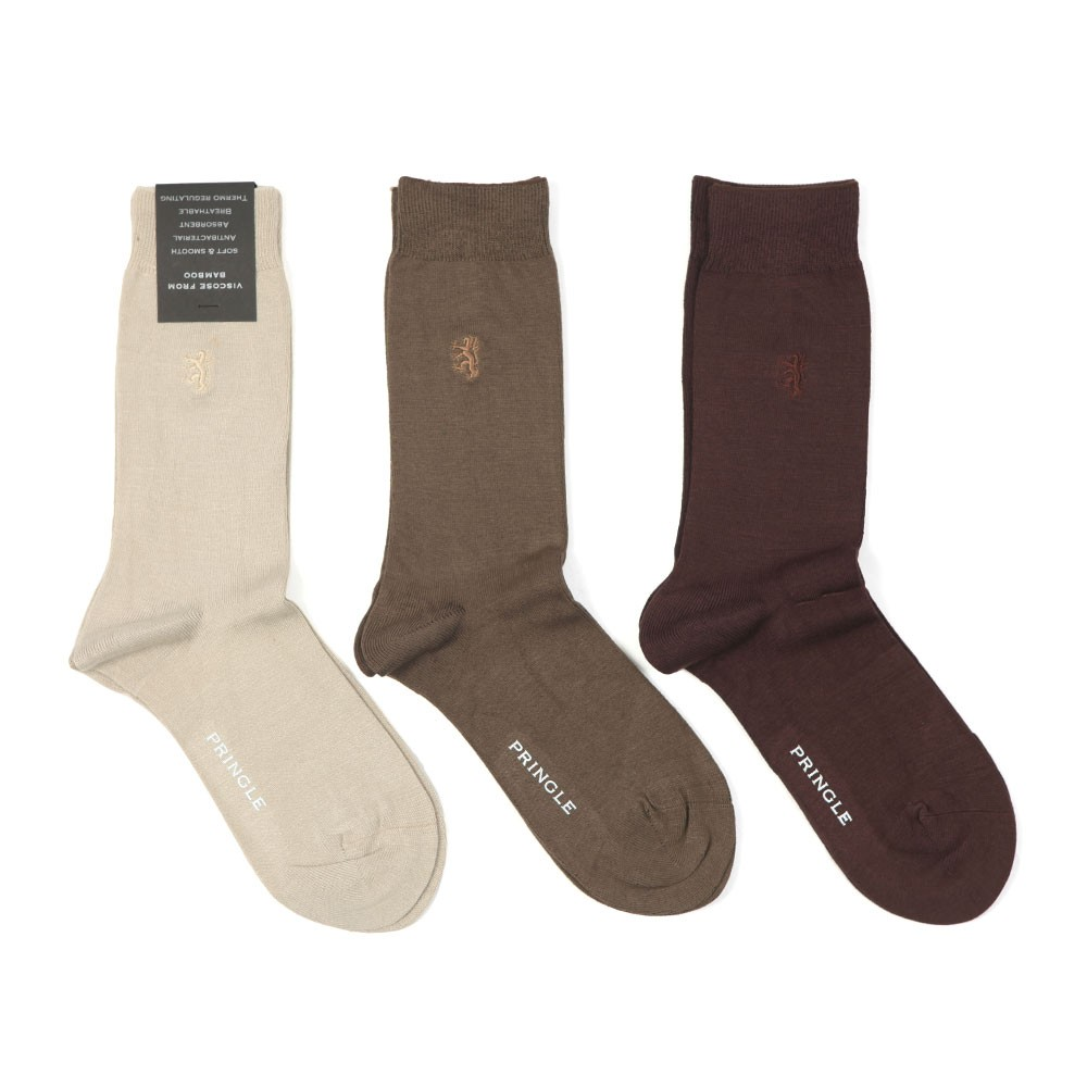3 Pack Bamboo Socks main image